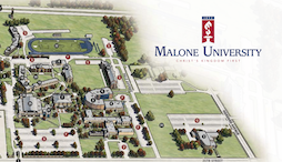 Malone Campus Map