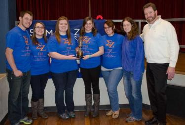 Gamma Eta Chapter 2014 Founders' Cup Award
